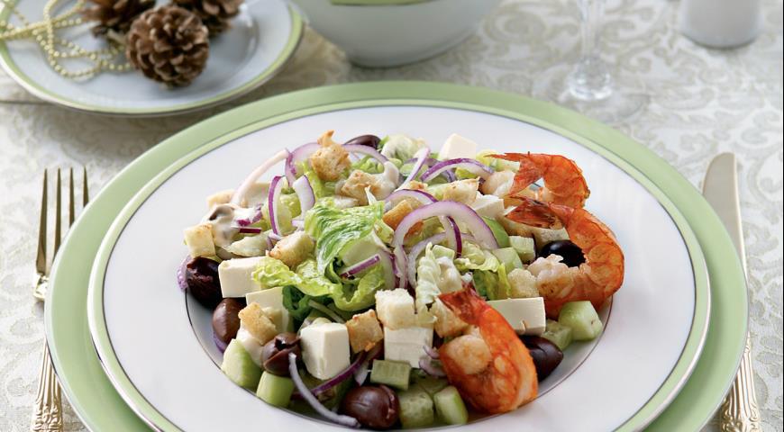 Салат цезарь и греческий рецепты пошагово