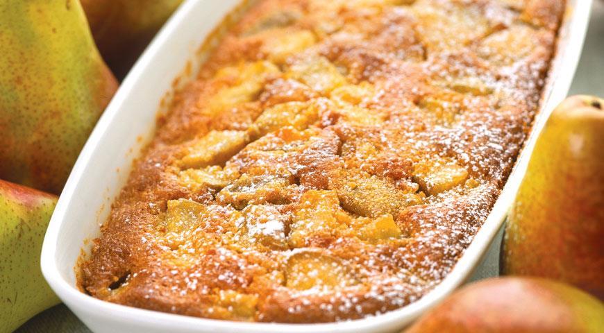 Грушевый пирог рецепт пошагово