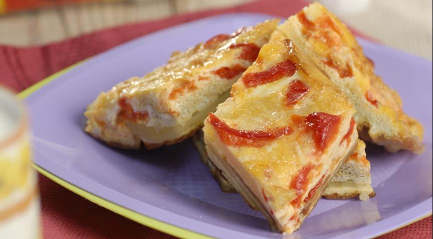 Омлет по-испански рецепт пошагово