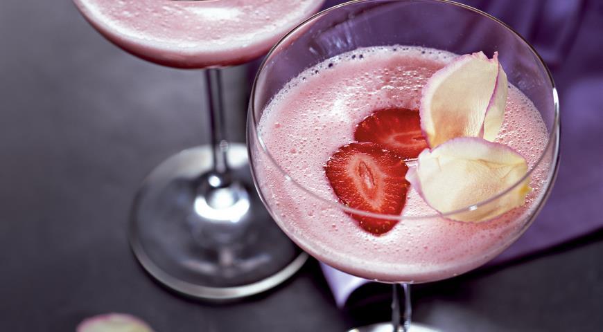 Рецепты коктейль с клубникой