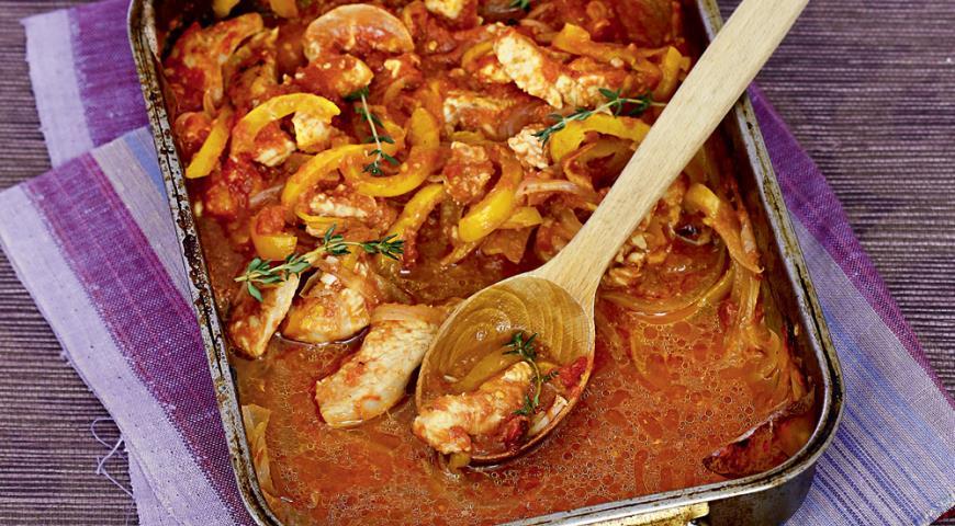 Простые блюда из индейки в духовке рецепты