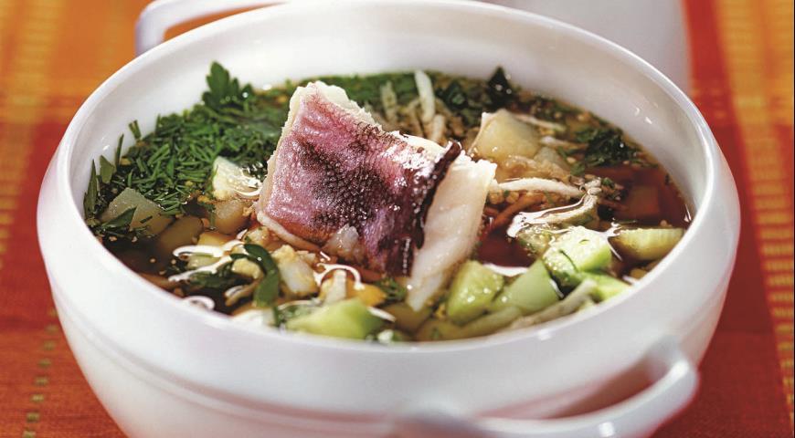 Рыбная окрошка рецепты
