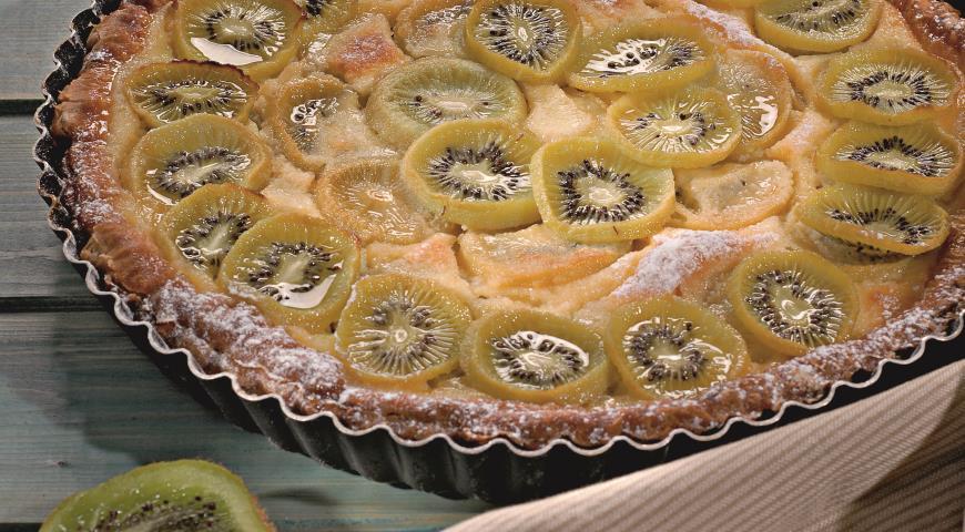Пирог с киви рецепт с фото в мультиварке