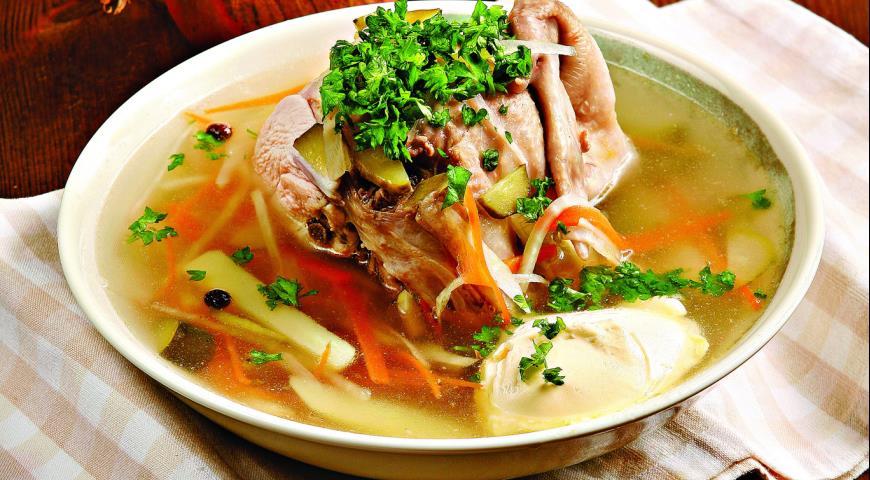 Рассольник с курицы рецепт
