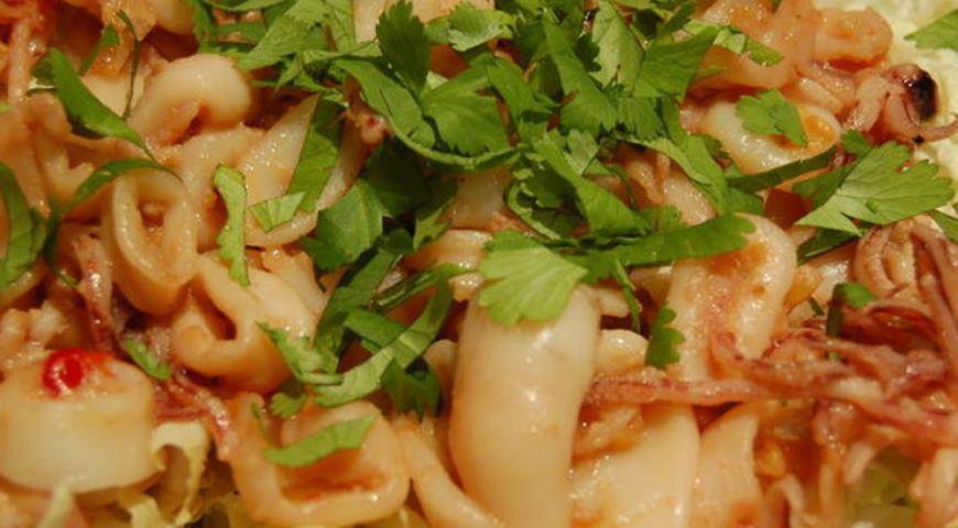 рецепт салата сицилийский с пекинской капустой
