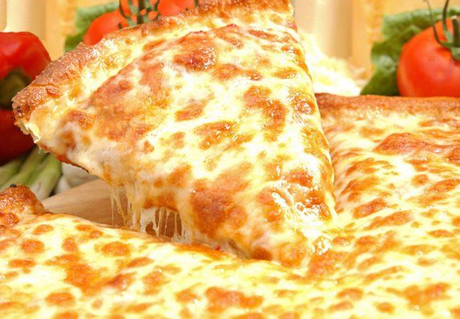 Пицца с сыром | Рецепты с фото