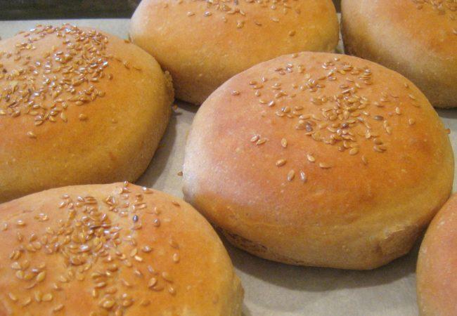 Сдобные булочки для гамбургеров | Рецепты с фото