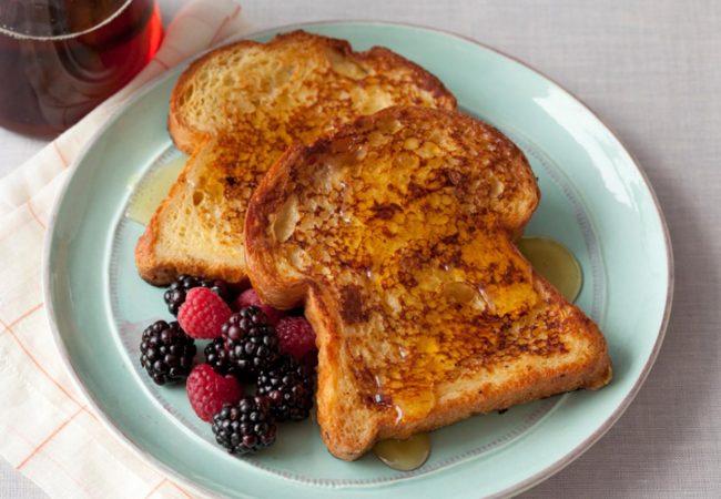 Гренки к завтраку | Рецепты с фото