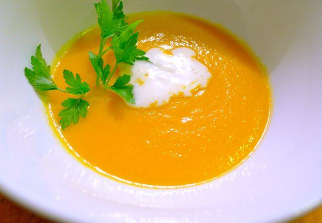 Морковный суп с медом | Рецепты с фото