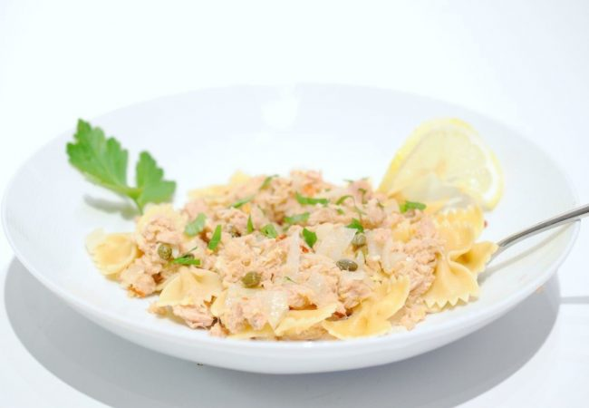 Паста с тунцом | Рецепты с фото