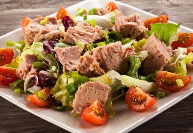 Салат с тунцом   Рецепты с фото