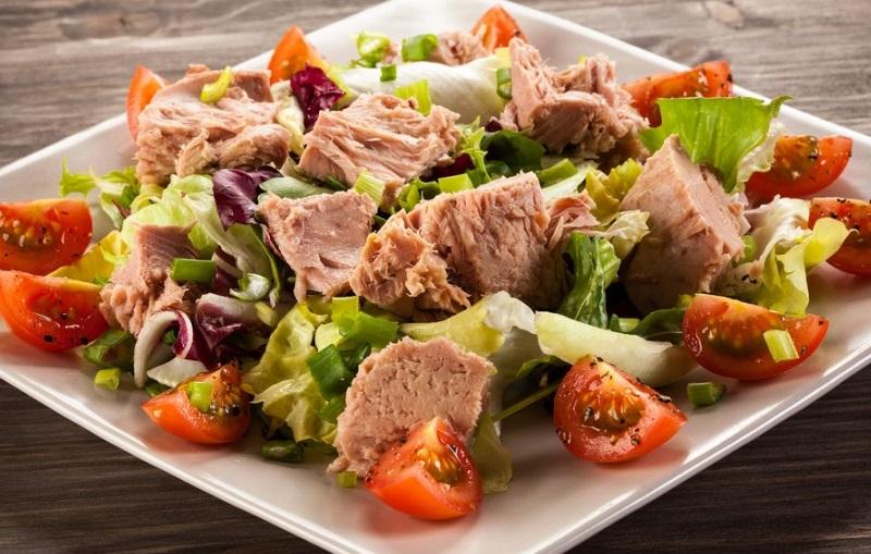 Салат с тунцом | Рецепты с фото