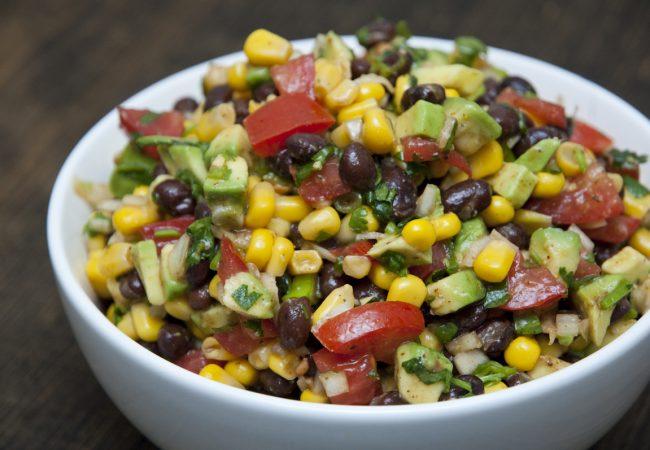 Салат из фасоли | Рецепты с фото