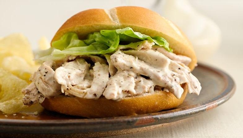 Сэндвич с курицей | Рецепты с фото
