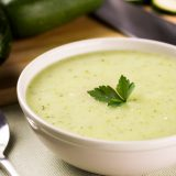 Суп-пюре из кабачков | Рецепты с фото
