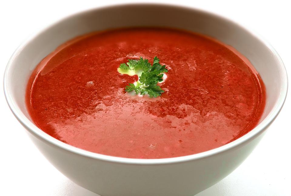 Суп-пюре томатный | Рецепты с фото