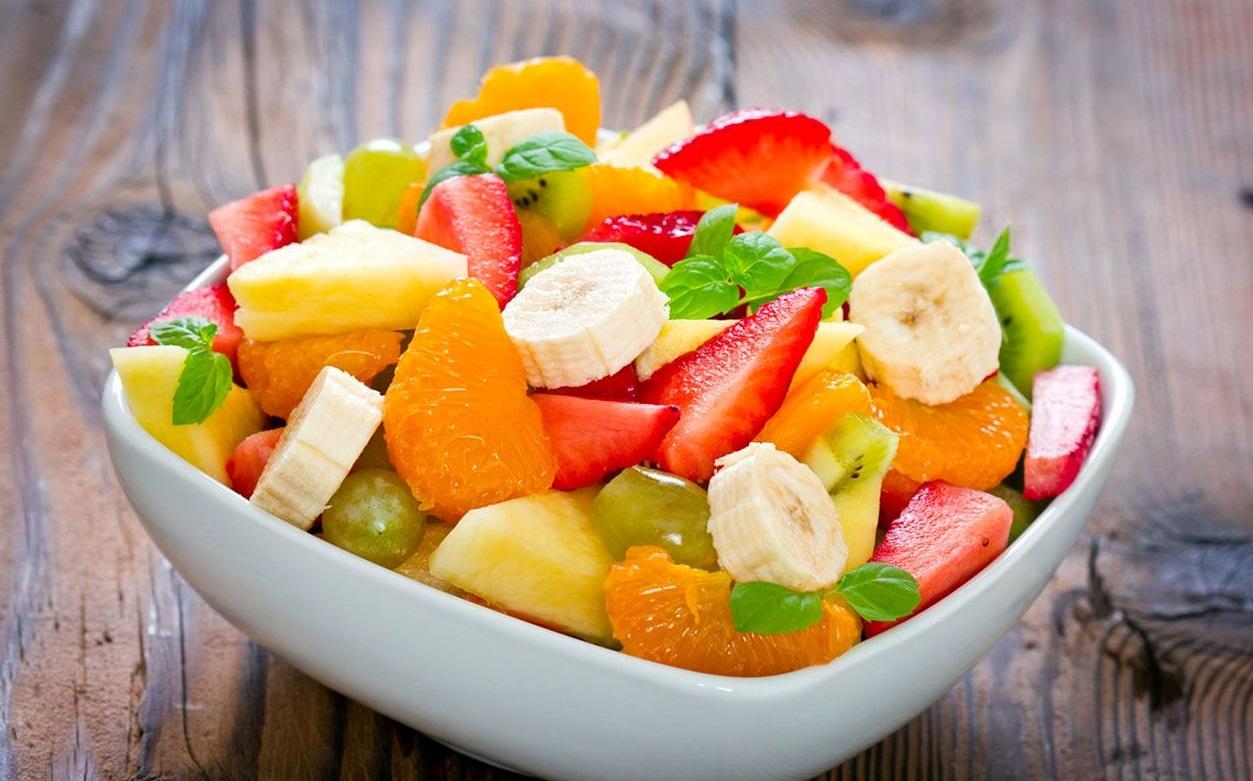 Фруктовый салат | Рецепты с фото