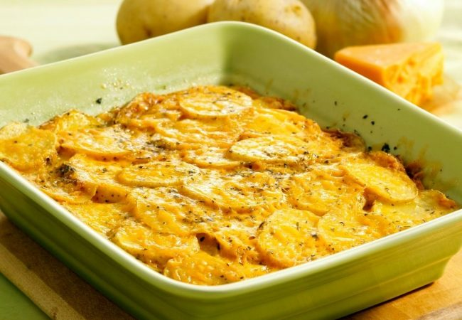 Картофельная запеканка | Рецепты с фото