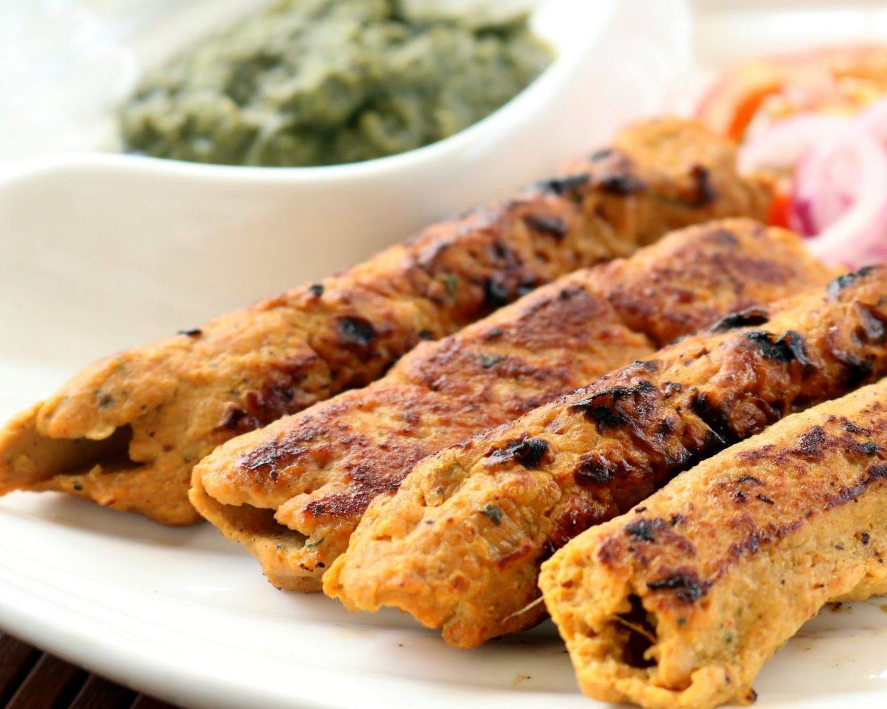 Кебаб из курицы | Рецепты с фото