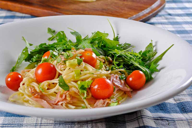 Паста с овощами и рикоттой | Рецепты с фото