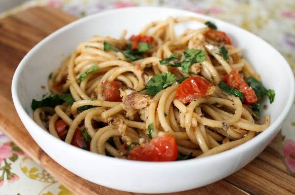 Паста с сардинами | Рецепты с фото