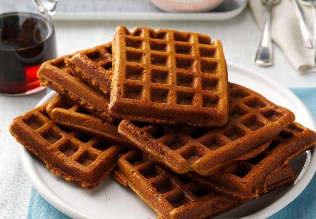 Марципановые вафли | Рецепты с фото