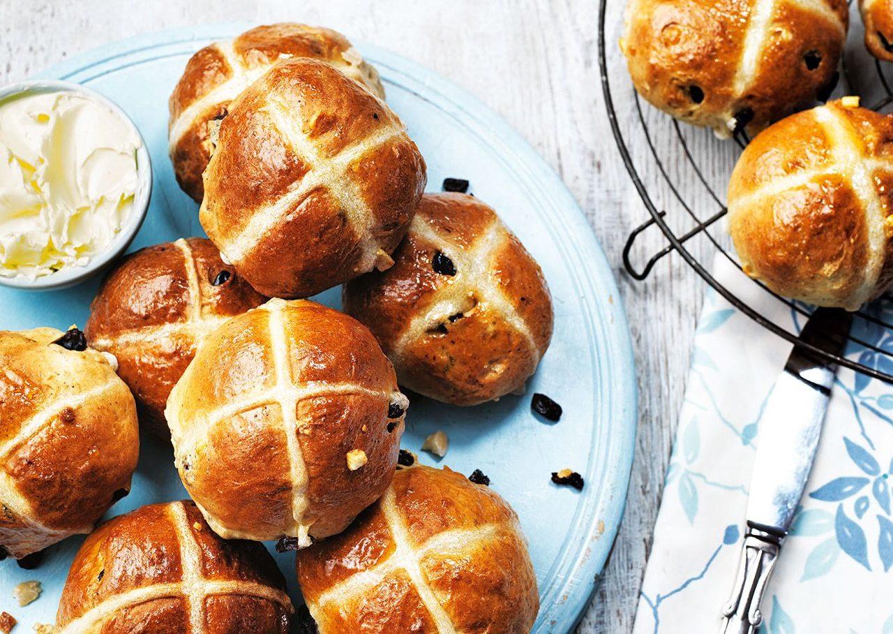 Английские пасхальные булочки | Рецепты с фото