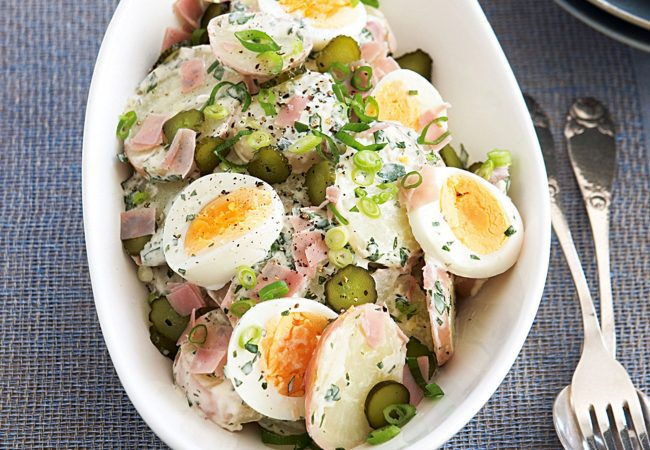 Австрийский картофельный салат | Рецепты с фото