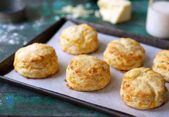 Чесночно-сырное печенье | Рецепты с фото