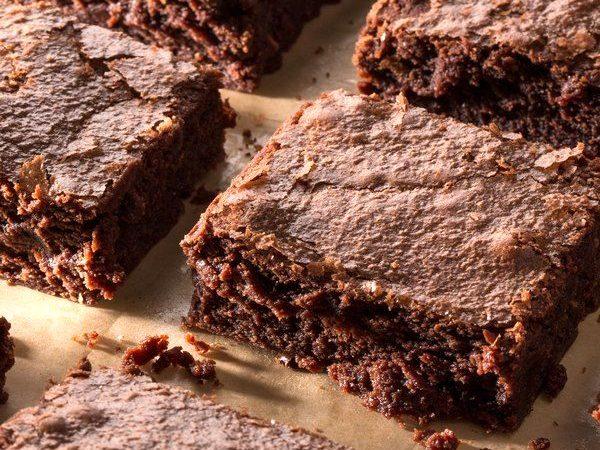 Двойные шоколадные брауни | Рецепты с фото
