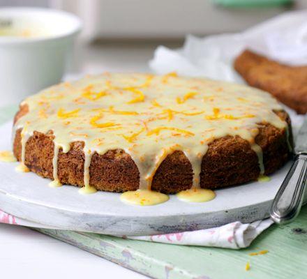 Глазированный морковный торт | Рецепты с фото