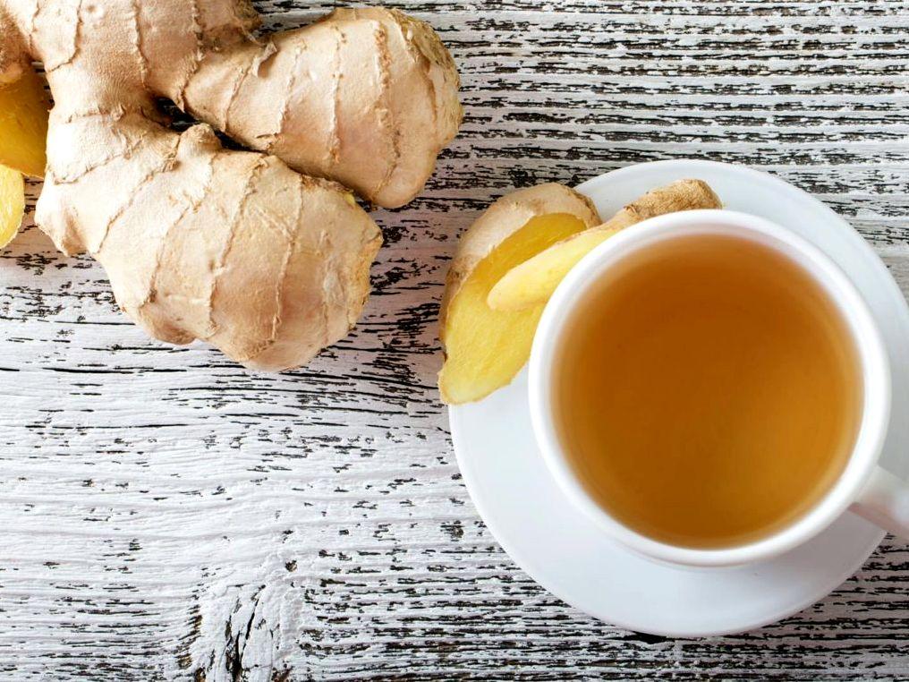 Имбирный чай | Рецепты с фото