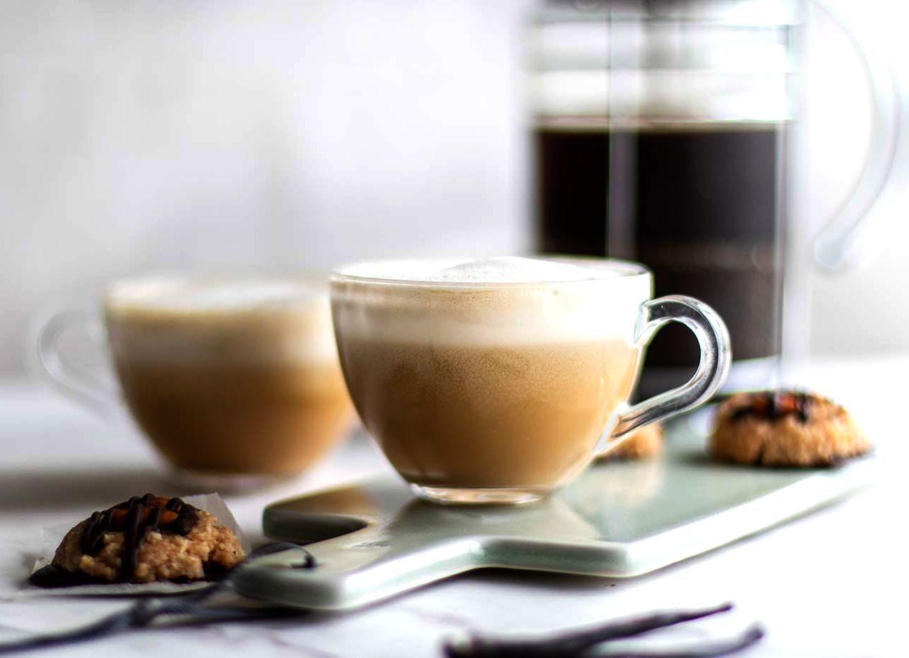 Кофе латте с ванилью и шоколадом | Рецепты с фото