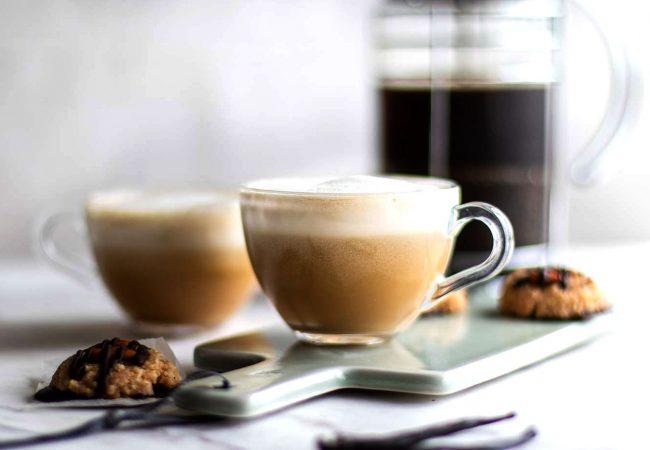 Кофе латте с ванилью и шоколадом   Рецепты с фото