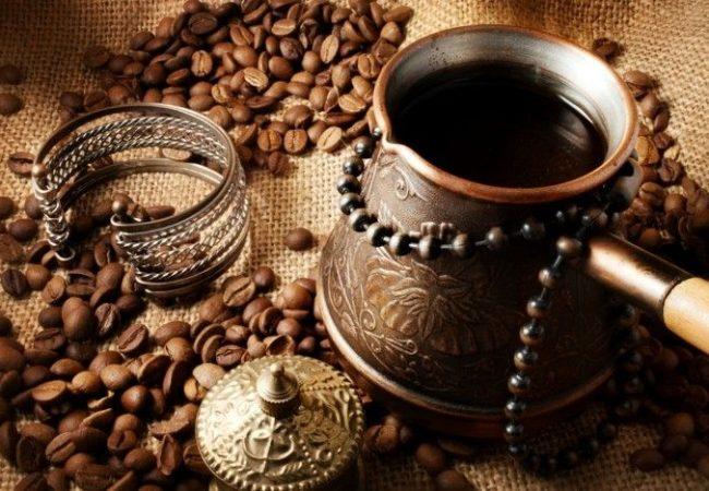 Кофе по-восточному, кофе, готовим кофе,