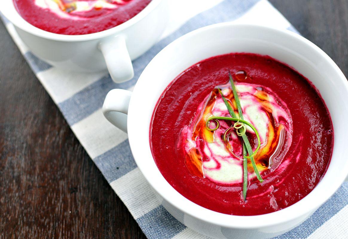 Крем-суп со свеклой | Рецепты с фото