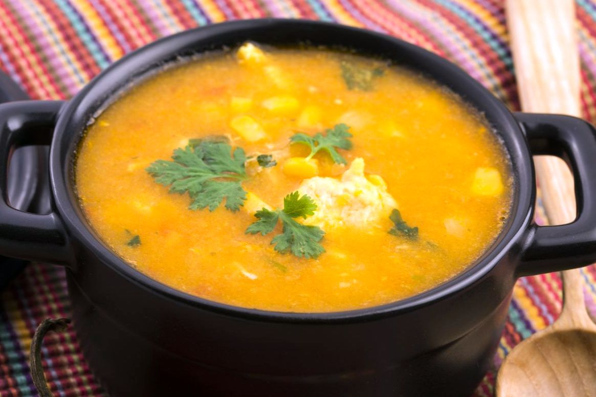 Мексиканский кукурузный суп | Рецепты с фото