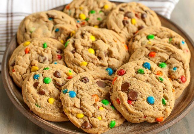Печенье с M&M | Рецепты с фото