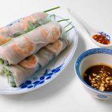 Роллы из рисовой бумаги с креветками | Рецепты с фото