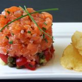 Рыбный тартар | Рецепты с фото