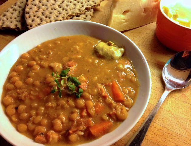 Шведский гороховый суп | Рецепты с фото