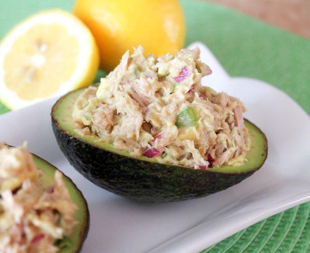 Салат из авокадо с тунцом | Рецепты с фото