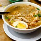 Сото айям, куриный суп | Рецепты с фото