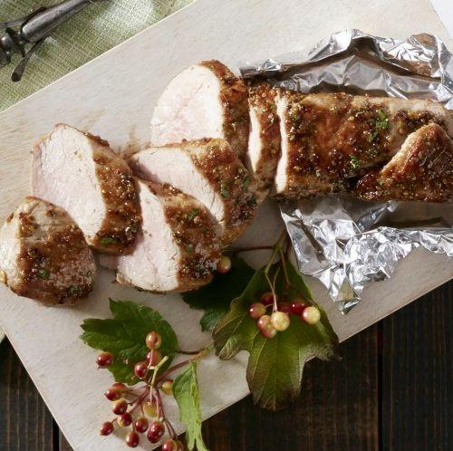 Свиная вырезка в фольге | Рецепты с фото