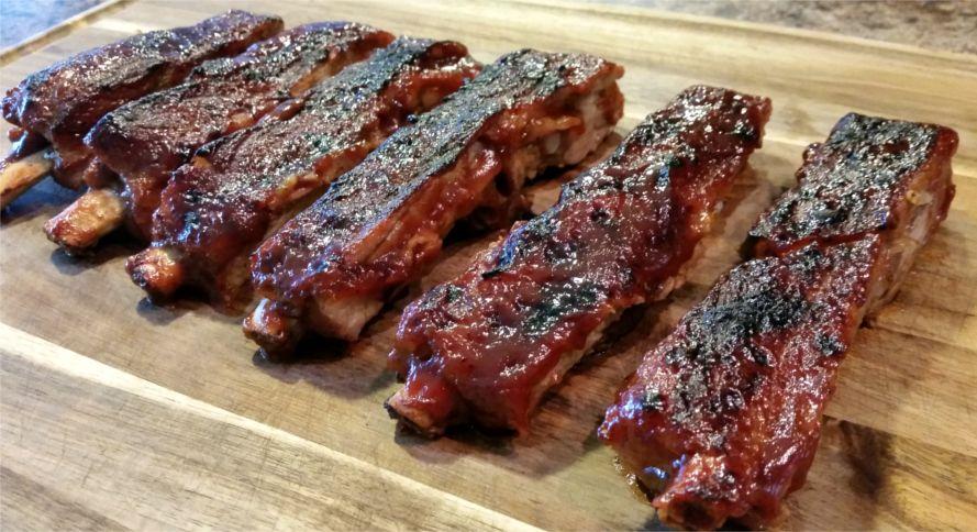 Свиные ребрышки по-техасски | Рецепты с фото