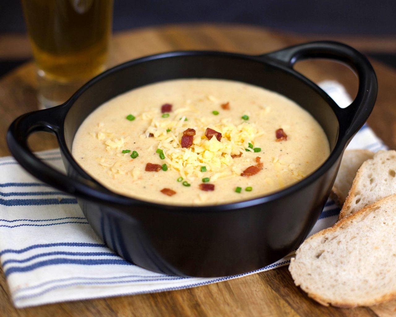 Сырный крем-суп | Рецепты с фото