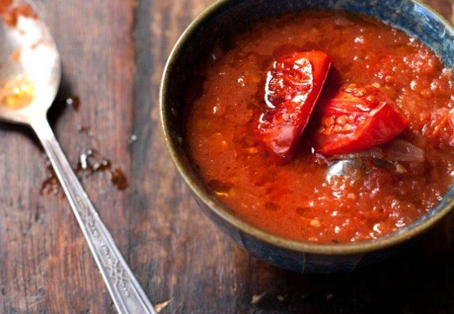 Томатный суп с венгерским перцем и рисом | Рецепты с фото