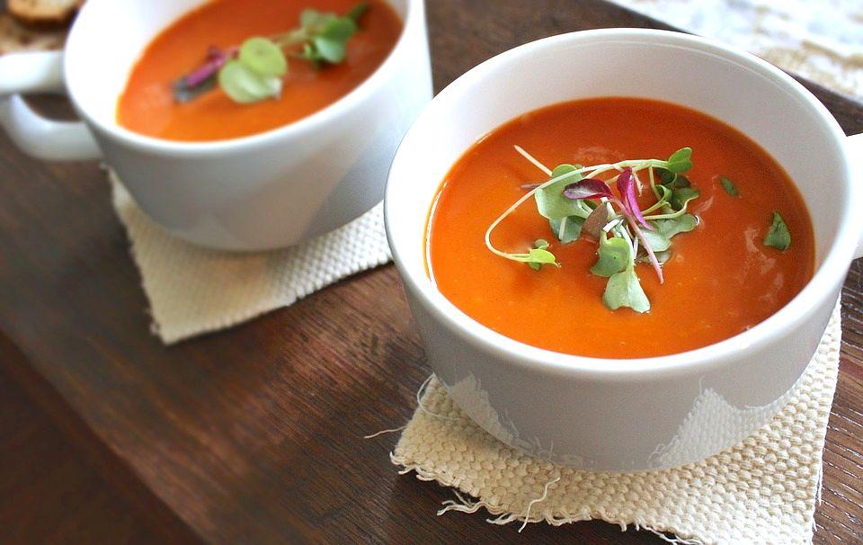 Томатный суп | Рецепты с фото