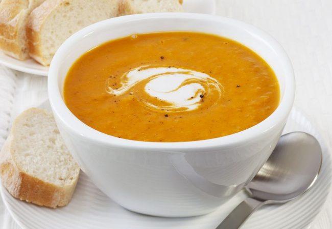 Тыквенный суп с имбирем | Рецепты с фото