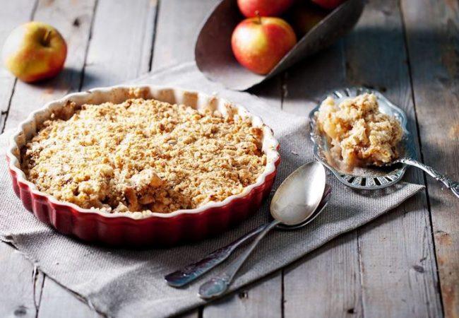 Яблочный крамбл | Рецепты с фото